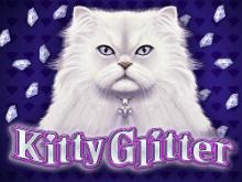 На биткоины в Kitty Glitter играть выгодно онлайн