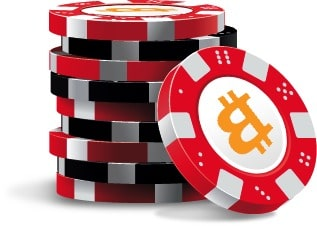 chips bitcoins poker