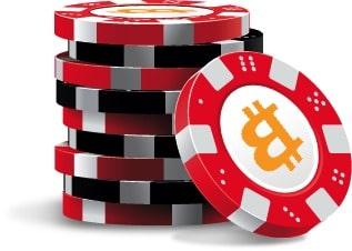 chips bitcoins poker