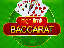 Как играть на реальные деньги с выводом в слот High Limit Baccarat